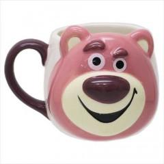 Japan Disney Die-cut Face Mug - Toy Story Lotso