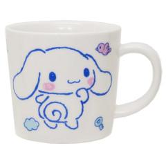 Japan Sanrio Pottery Mug - Cinnamoroll White