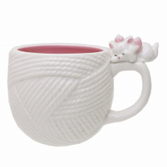 Japan Disney Ceramic Mug - Marie Cat