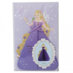 Japan Disney Honeycomb Card - Rapunzel