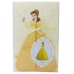 Japan Disney Honeycomb Card - Belle