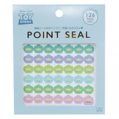Japan Disney Point Seal 123pcs Sticker - Aliens