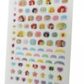 Japan Disney Nail Sticker - Princess - 2