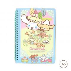 Sanrio A5 Twin Ring Notebook - Cinnamoroll