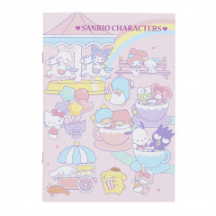 Japan Sanrio A5 Staple Notebook - Sanrio Characters