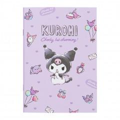 Japan Sanrio A5 Staple Notebook - Kuromi