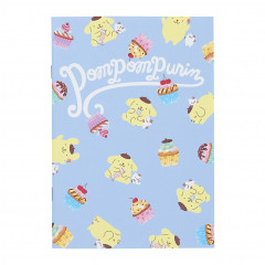 Japan Sanrio A5 Staple Notebook - Pompompurin