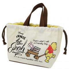 Japan Disney Winnie The Pooh Lunch Bag - & Piglet
