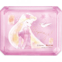 Japan Disney Seal Flake Sticker with Case - Princess Rapunzel