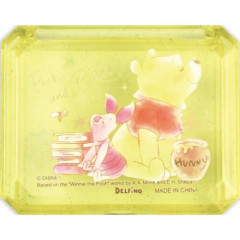 Japan Disney Seal Flake Sticker with Case - Winnie The Pooh & Piglet