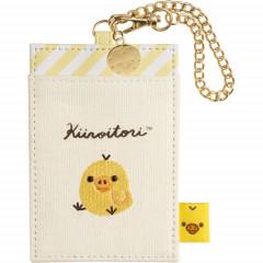 Japan San-X Rilakkuma Pass Case Card Holder - Kiiroitori