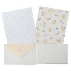 Japan Pokemon Letter Envelope Set - Pikachu