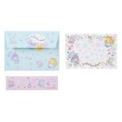 Japan Sanrio Letter Envelope Set - Little Twin Stars