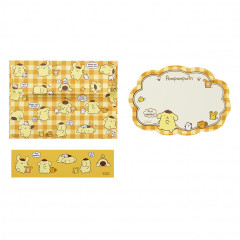 Japan Sanrio Letter Envelope Set - Pompompurin