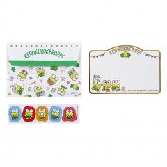 Japan Sanrio Letter Envelope Set - Kerokerokeroppi