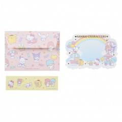 Japan Sanrio Letter Envelope Set - Sanrio Characters