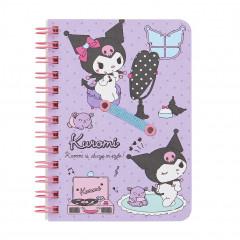 Sanrio B7 Twin Ring Notebook - Kuromi