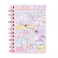 Sanrio B7 Twin Ring Notebook - Sanrio Characters