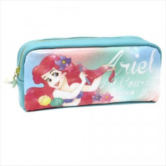 Japan Disney Pen Case Pouch - Princess Ariel