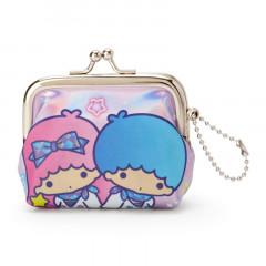 Japan Sanrio Keychain Coin Purse - Little Twin Stars