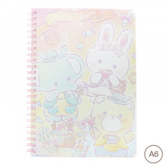 Sanrio A6 Twin Ring Notebook - Cheery Chums
