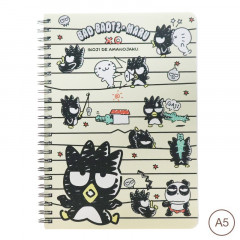 Sanrio A5 Twin Ring Notebook - Bad Badtz-Maru