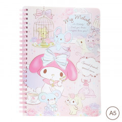 Sanrio A5 Twin Ring Notebook - My Melody