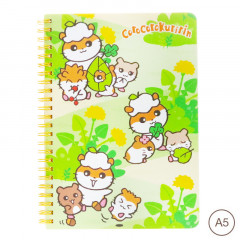 Sanrio A5 Twin Ring Notebook - Corocorokuririn