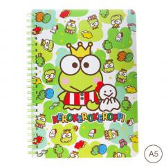 Sanrio A5 Twin Ring Notebook - Keroppi