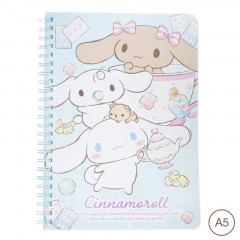 Sanrio A5 Twin Ring Notebook - Cinnamoroll