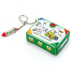 Japan Sanrio Mini Box Keychain - Kerokerokeroppi