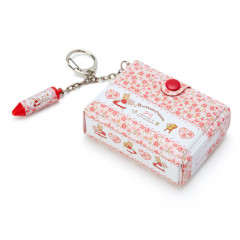 Japan Sanrio Mini Box Keychain - Marroncream