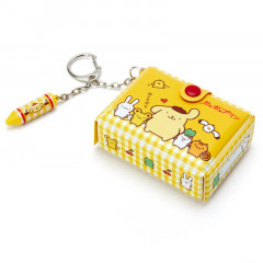 Japan Sanrio Mini Box Keychain - Pompompurin