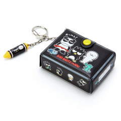 Japan Sanrio Mini Box Keychain - Bad Badtz-Maru