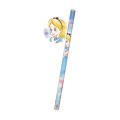Japan Disney 2B Pencil - Alice in Wonderland & Jewelry Stone