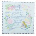 Japan Disney Embroidery Handkerchief Wash Towel - Alice in Wonderland - 1