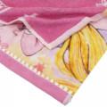 Japan Disney Fluffy Handkerchief Wash Towel - Rapunzel - 2