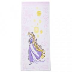 Japan Disney Fluffy Towel - Rapunzel Purple