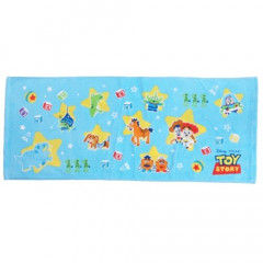 Japan Disney Fluffy Towel - Toy Story Sky Blue