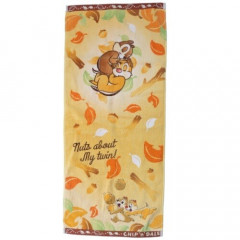 Japan Disney Fluffy Towel - Chip & Dale