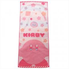 Japan Kirby Fluffy Towel - Stars
