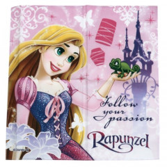 Japan Disney Handkerchief Wash Towel - Rapunzel