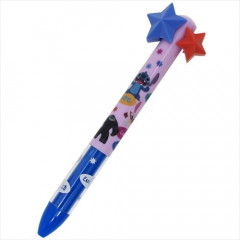 Japan Disney Two Color Mimi Pen - Stitch with Star