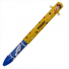 Japan Disney Two Color Mimi Pen - Woody