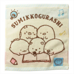 Japan San-X Handkerchief Wash Towel - Sumikko Gurashi