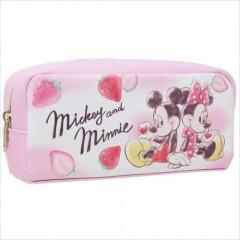 Japan Disney Pouch - Mickey & Minnie