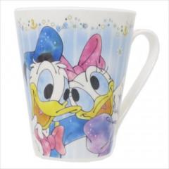 Japan Disney Ceramic Mug - Donald & Daisy