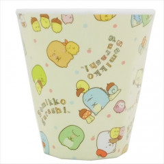 Japan San-X Plastic Cup - Sumikko Gurashi Light Yellow