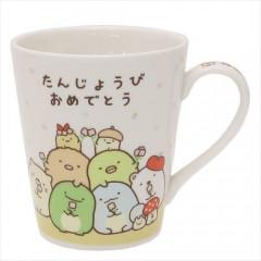 Japan San-X Ceramic Mug - Sumikko Gurashi Happy Birthday