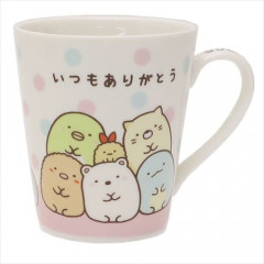 Japan San-X Ceramic Mug - Sumikko Gurashi Thank you